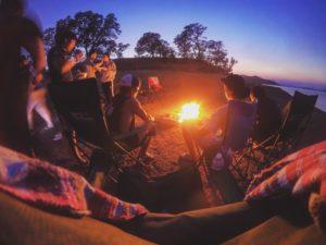 camping à vias